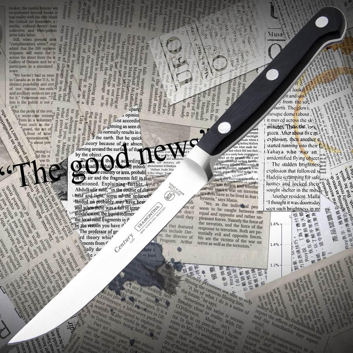 Нож кухонный Tramontina 24003/105 CENTURY для стейка