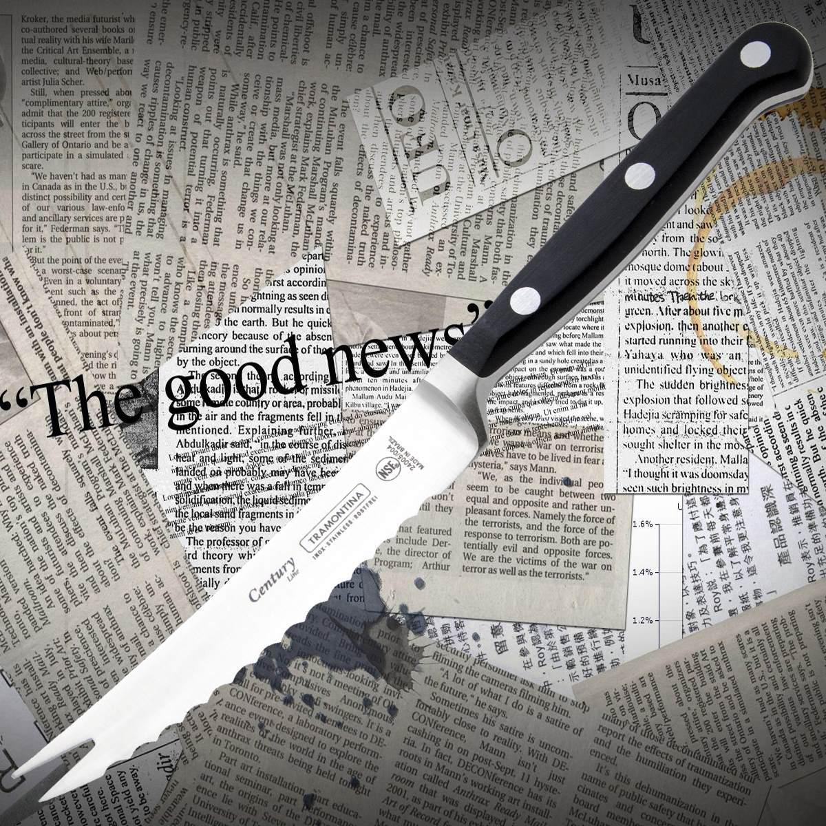 Нож кухонный Tramontina 24005/004 CENTURY для сыра (томатов)