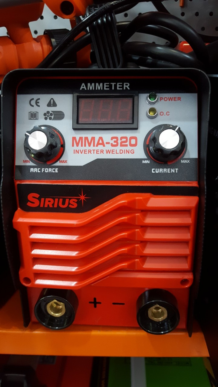 Зварювальний інвертор Сіріус ММА 320 Валіза + 2 регулювання