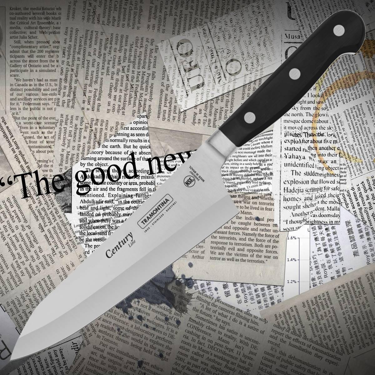 Нож кухонный Tramontina 24025/007 CENTURY поварской