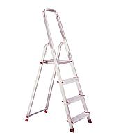 Лестница-стремянка алюминиевая KRAUSE Corda 4 ступени, фото 1