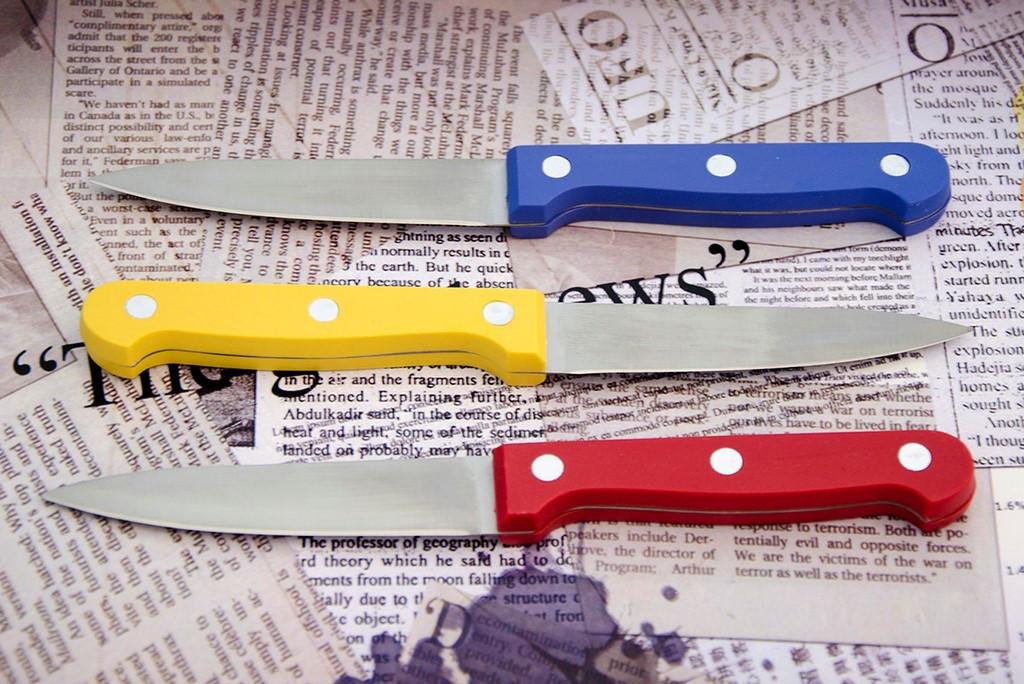 Нож овощной Kiwi м