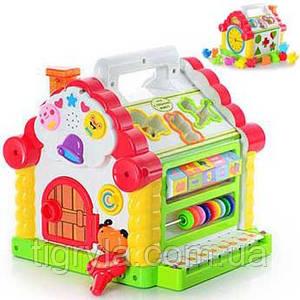 Теремок - игрушка развивающая сортер