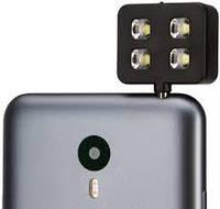 LED вспышка подсветка для селфи JUST Selfie Flasher Черная