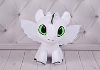 Мягкая игрушка, детеныш Беззубика и Ночной Фурии Стефани, Как Приручить Дракона, фото 1
