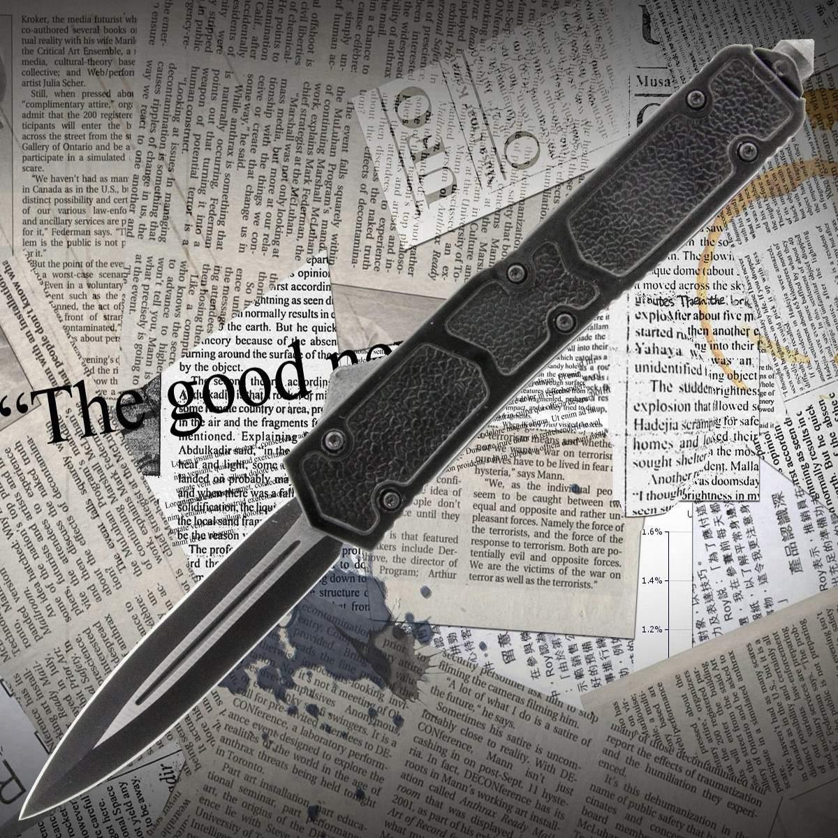 Автоматический выкидной нож Тотем 7306