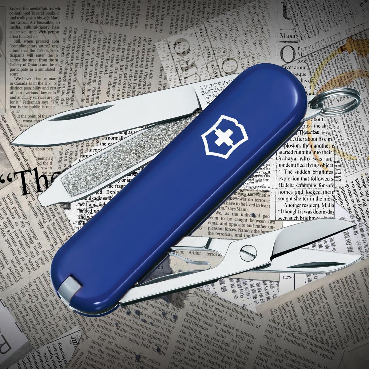 Многофункциональный нож Victorinox 0.6223.2  Classic Blue