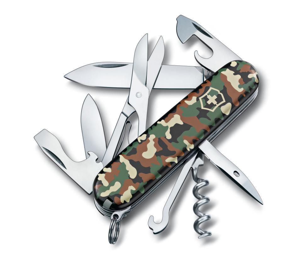 Многофункциональный нож Victorinox 1.3703.94 Climber Camouflage