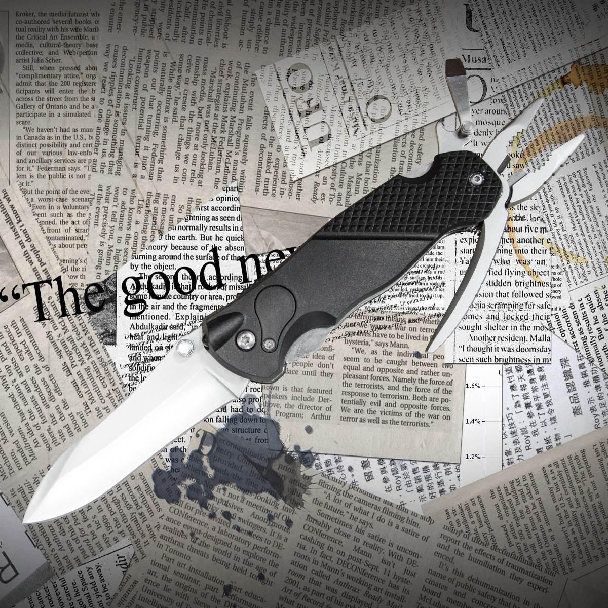 Многофункциональный нож Тотем 8004