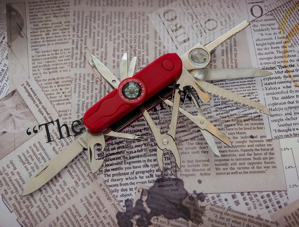 Многофункциональный нож Тотем K5017BL