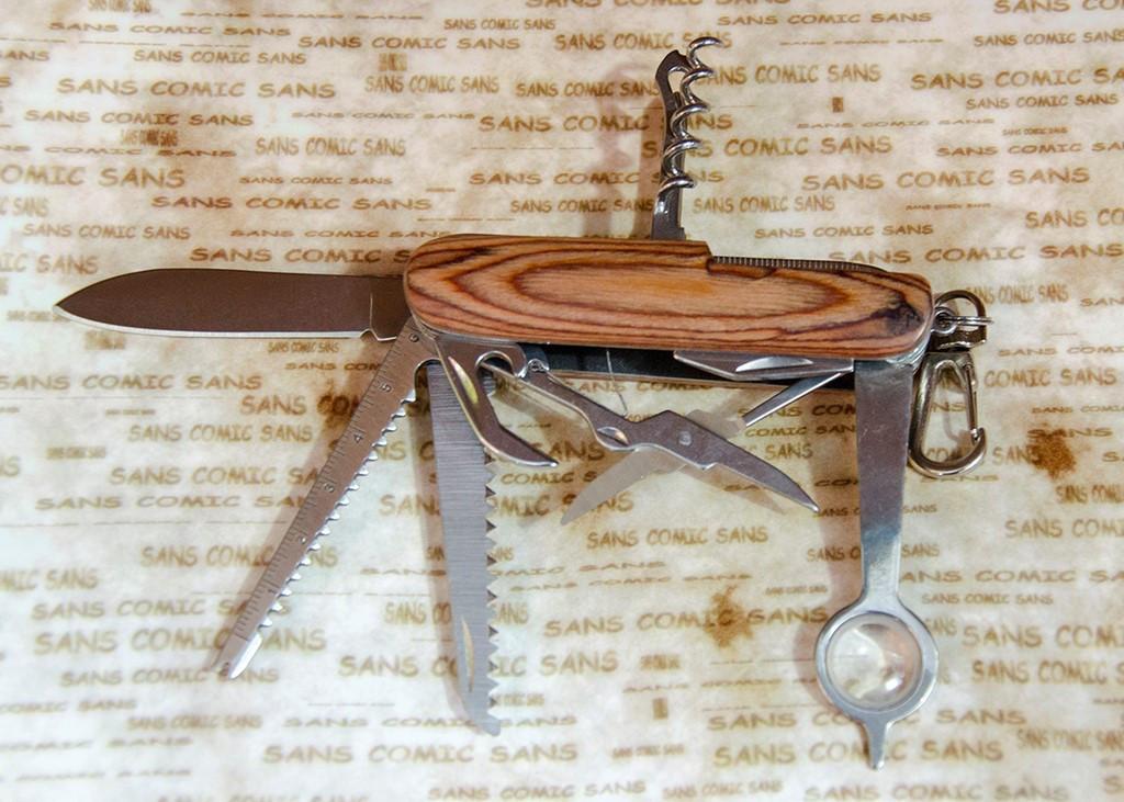 Многофункциональный нож Тотем K6013WF