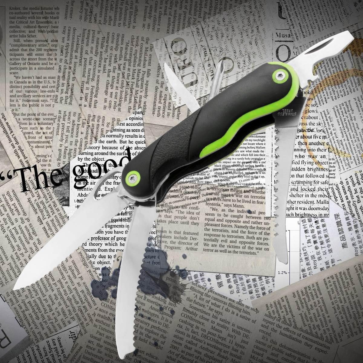 Многофункциональный нож Тотем KB001