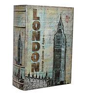 """Книга-сейф  """"Лондон"""" книга тайник в твердом переплете"""