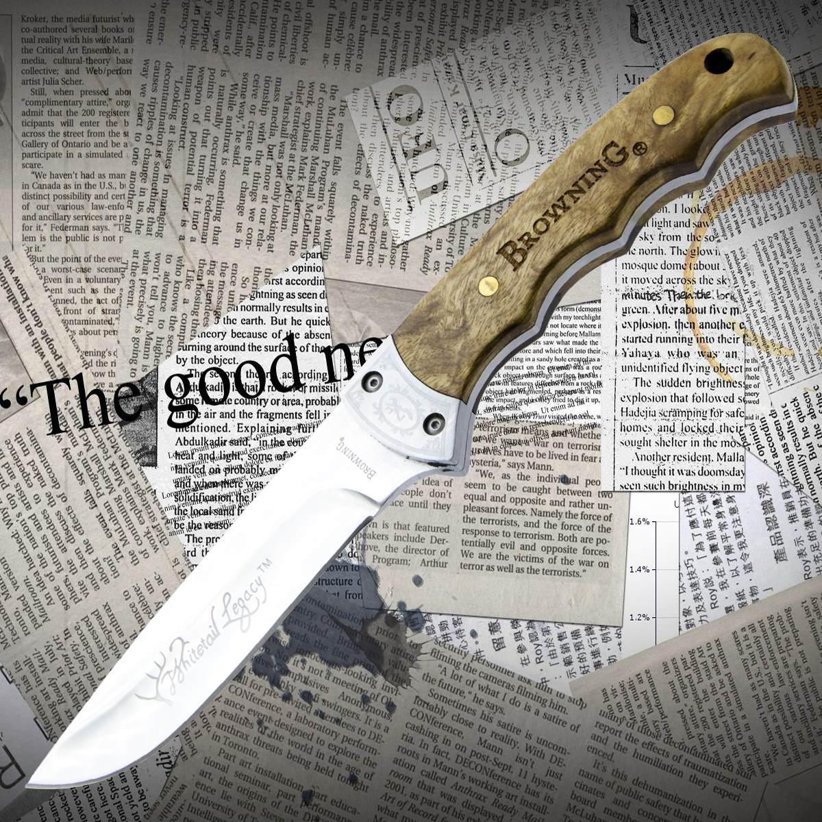 Нож  Browning 322 Уценка