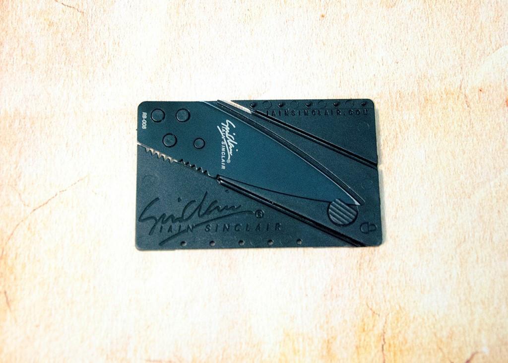 Нож - кредитная карта Card Sharp