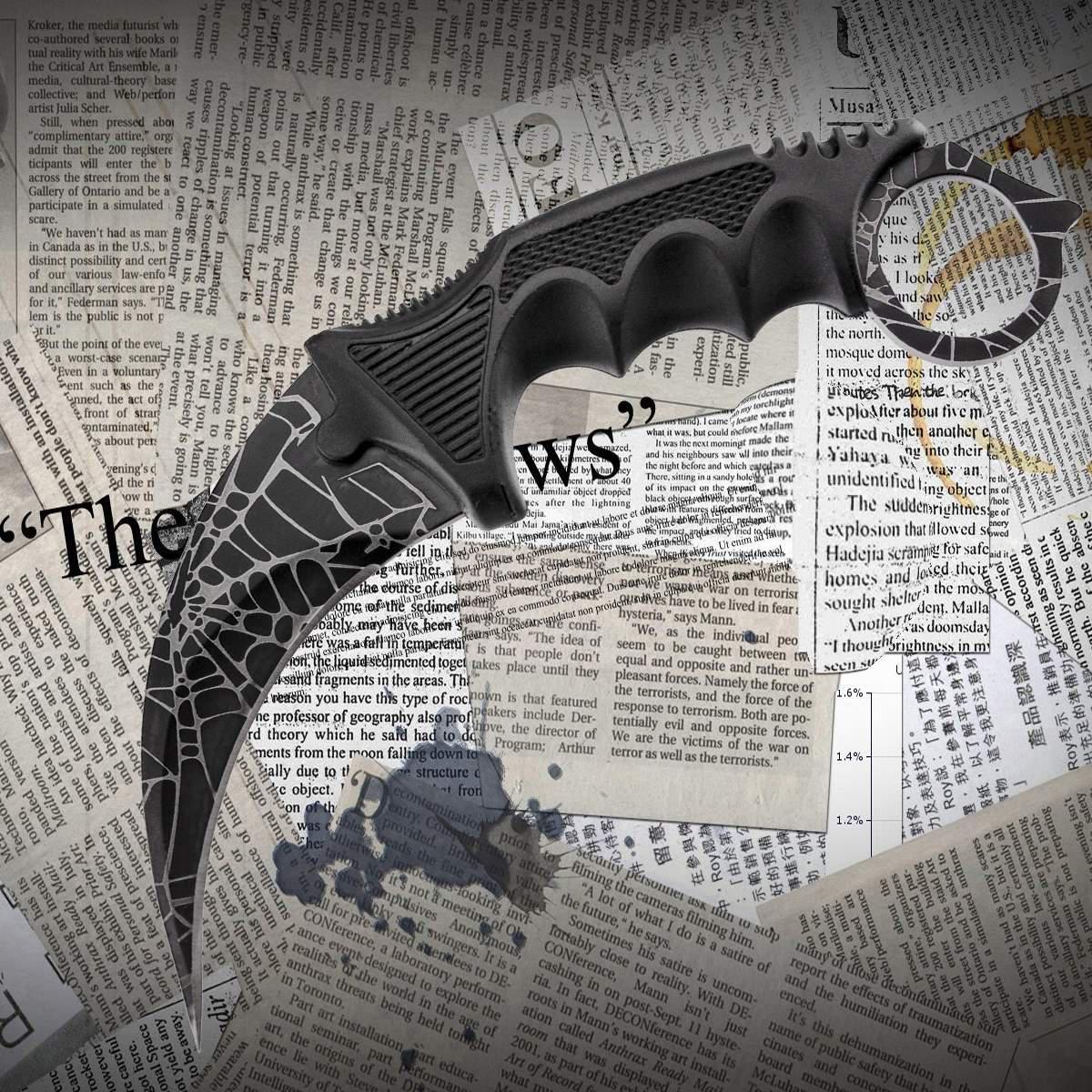 Нож керамбит CS:GO (z222)