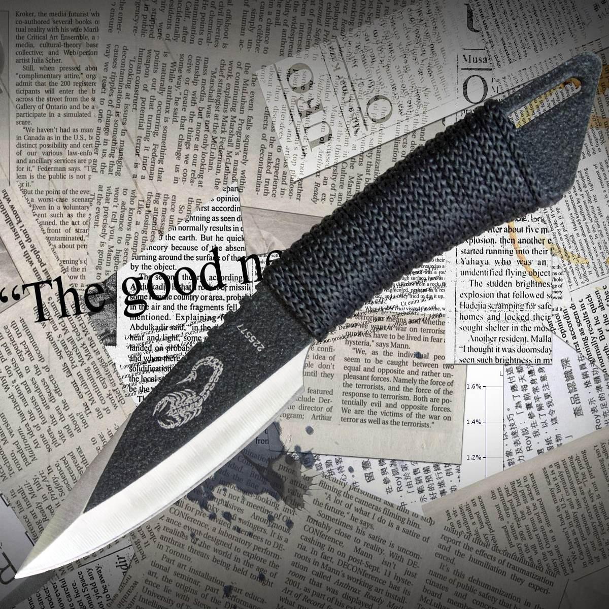 """Нож метательный Скорпион 7"""""""