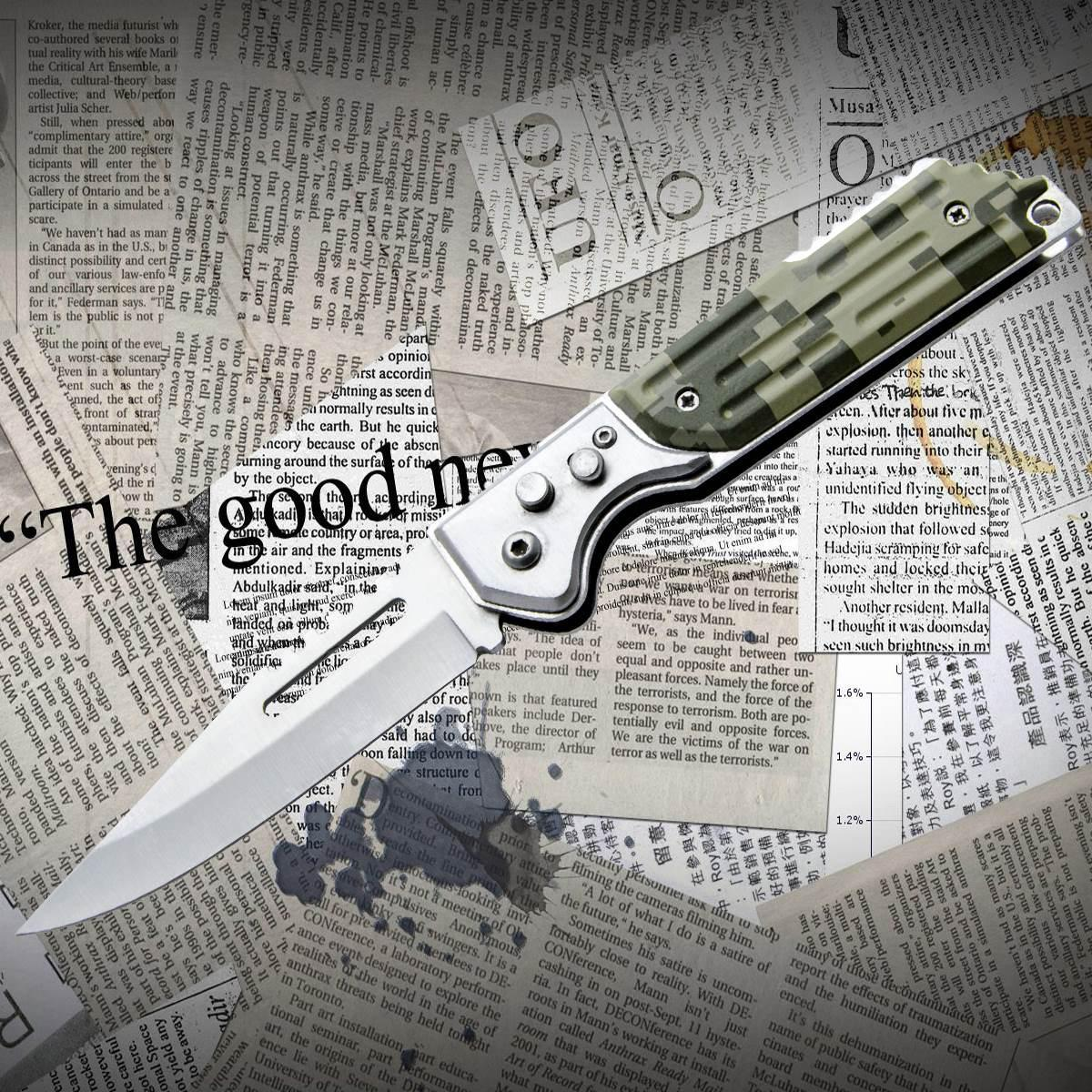 Нож складной Black Hawk 407 ср