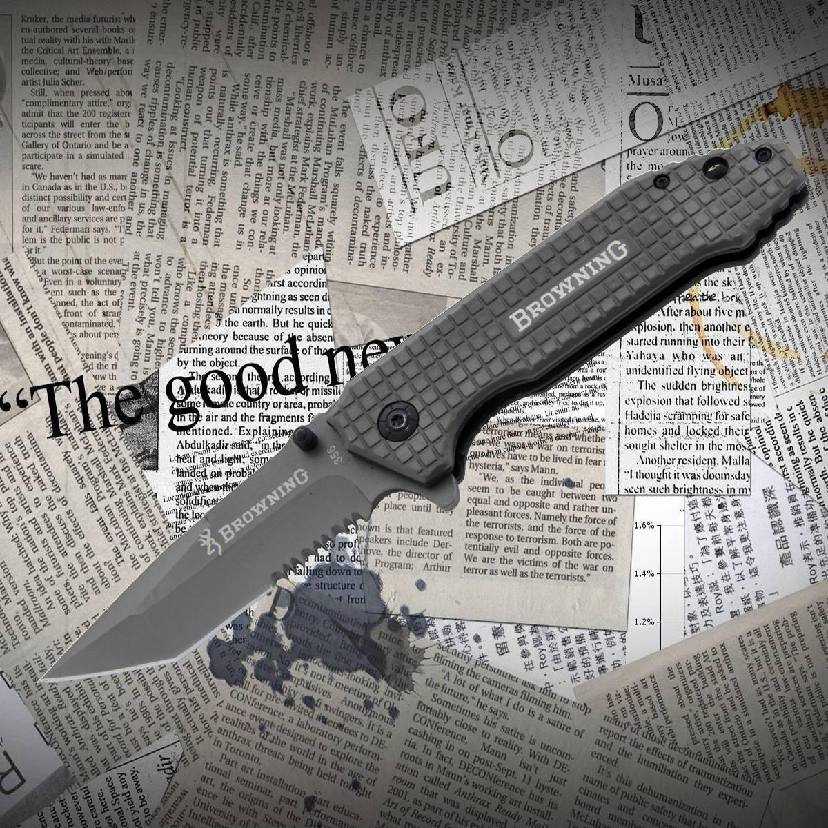 Нож складной Browning 356
