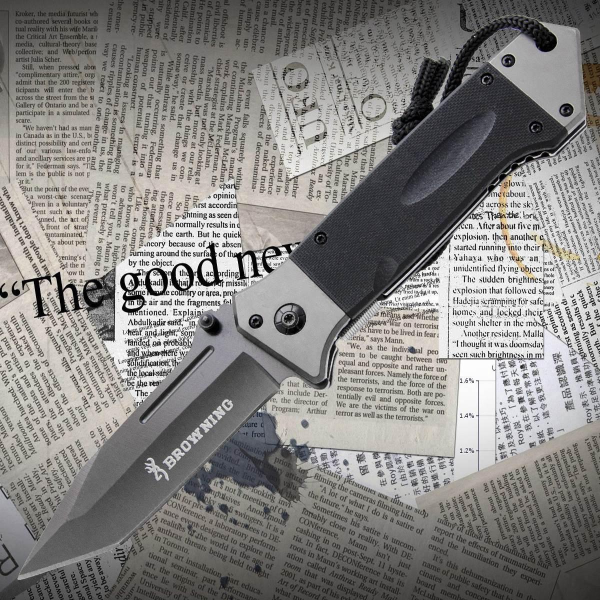 Нож складной Browning B020