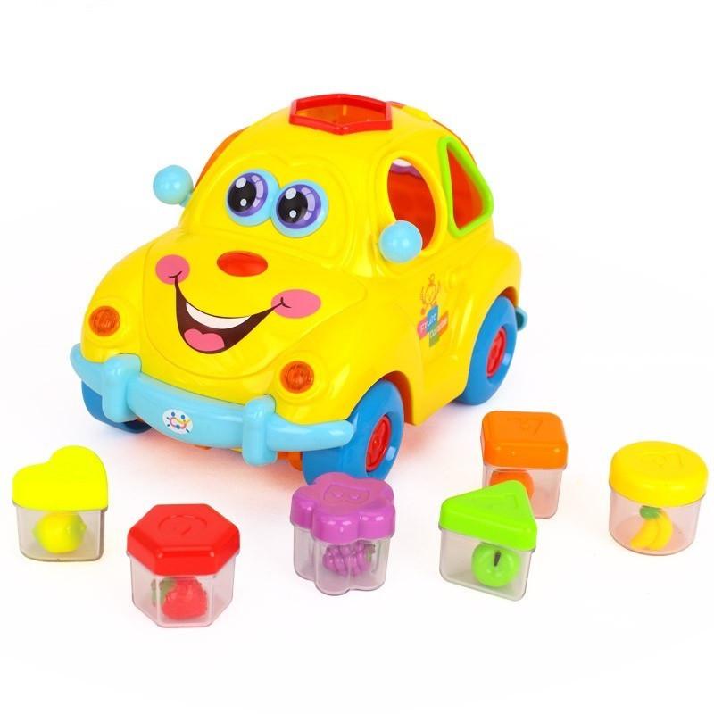 Игрушка сортер Фруктовая машинка Hola Toys (516)