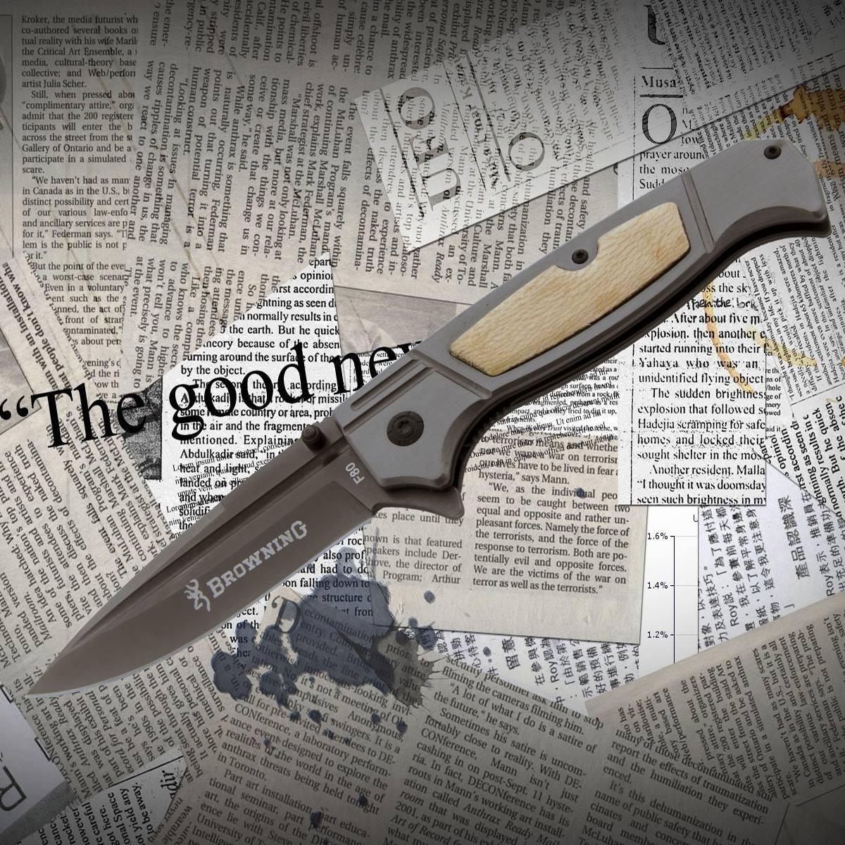 Нож складной Browning F 80