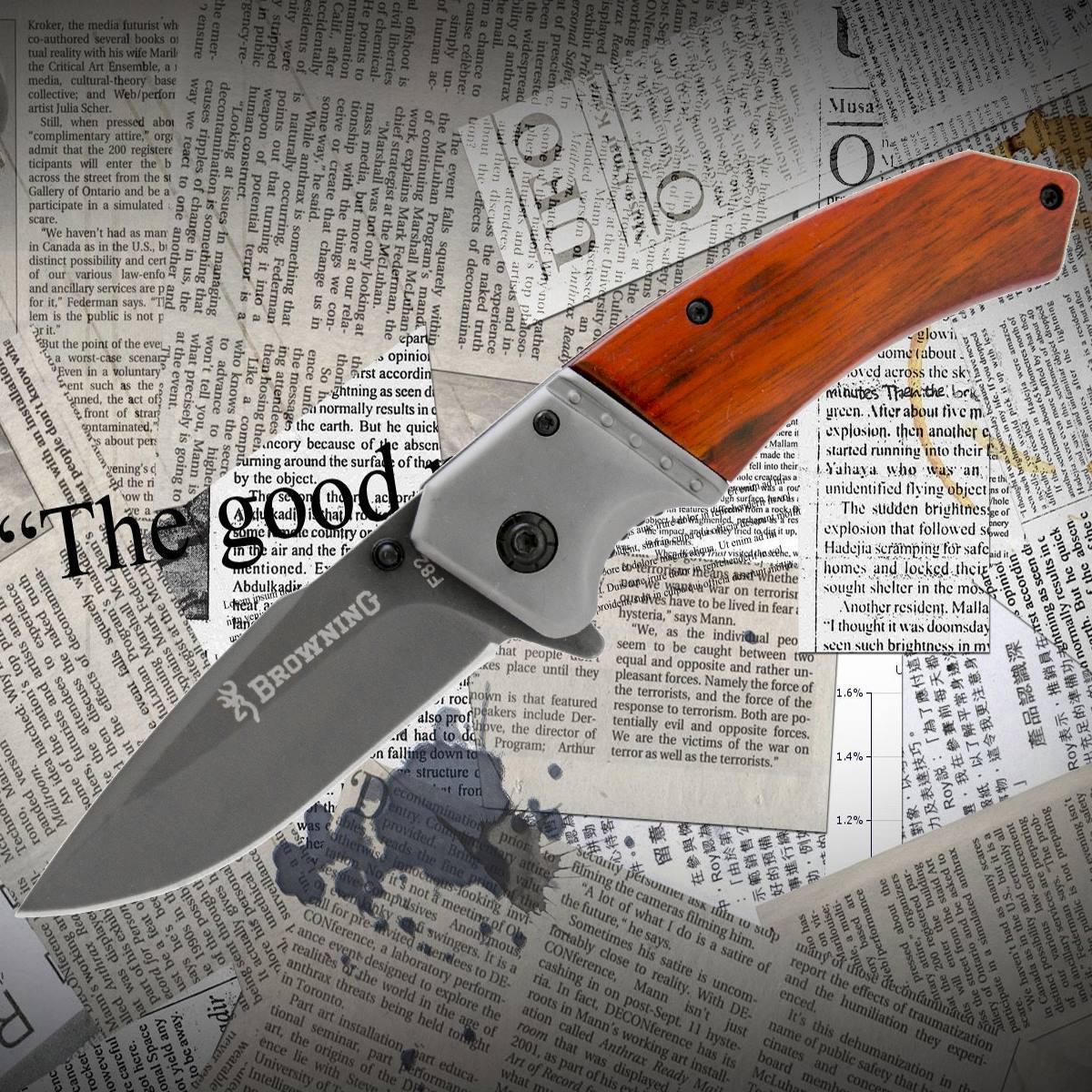 Нож складной Browning F82