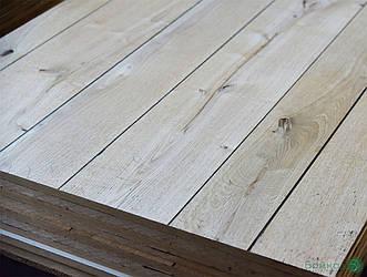МДФ плита шпонована Дубом в сучках (дошка) 19 мм 2,8х1,033 м