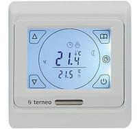 Терморегулятор с недельным программатором Terneo SEN, электр. управл-е, IP20, белый (terneo_sen)