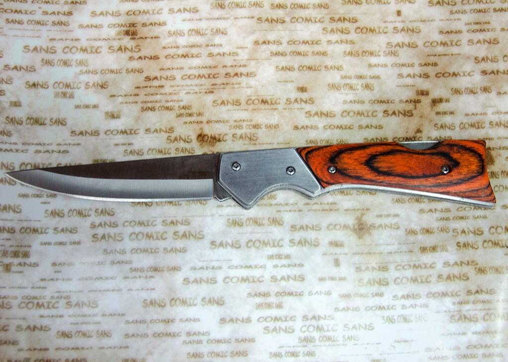 Нож складной А6