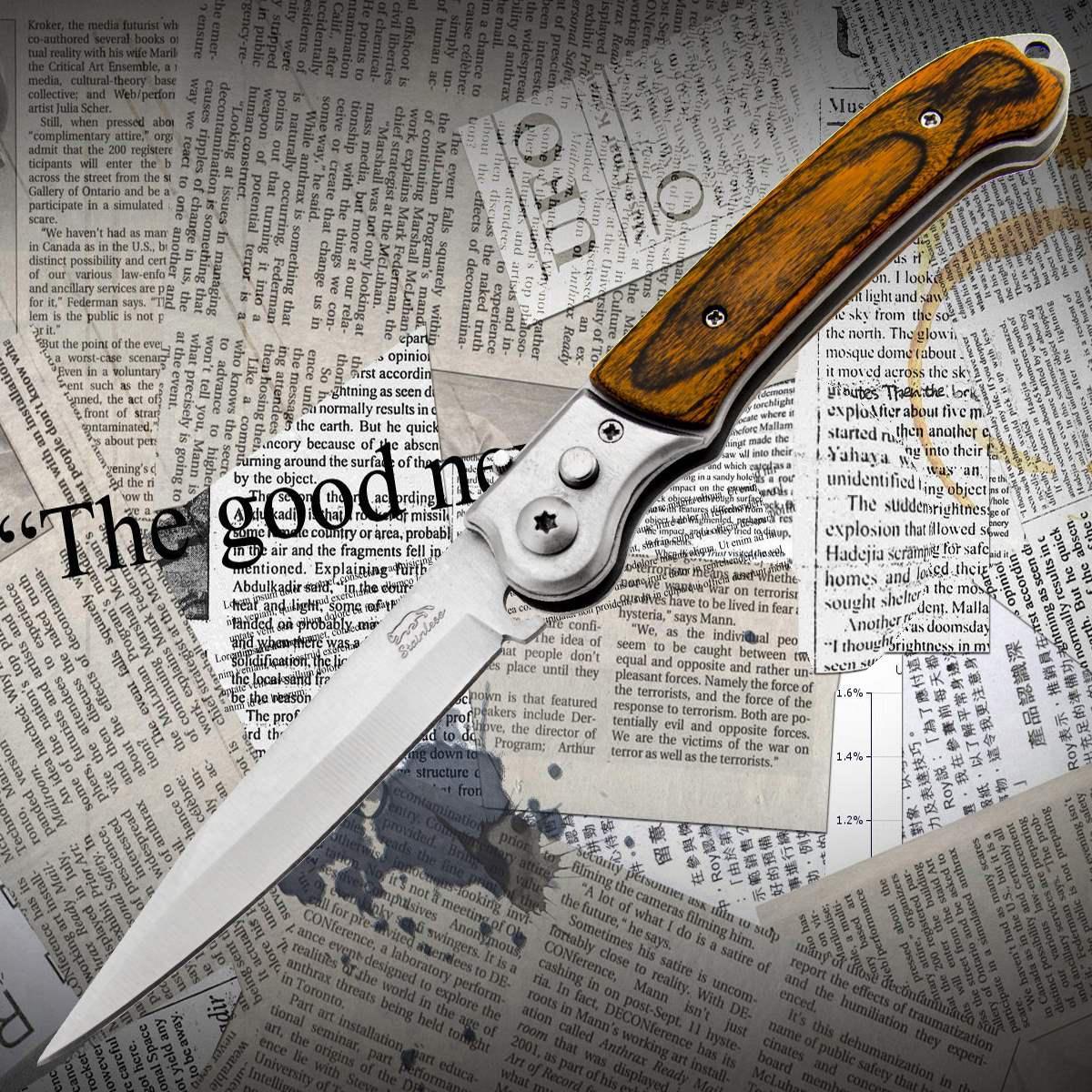 Нож складной Т08
