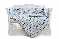Бампер для детской кроватки Twins Comfort line C-050 Турбо