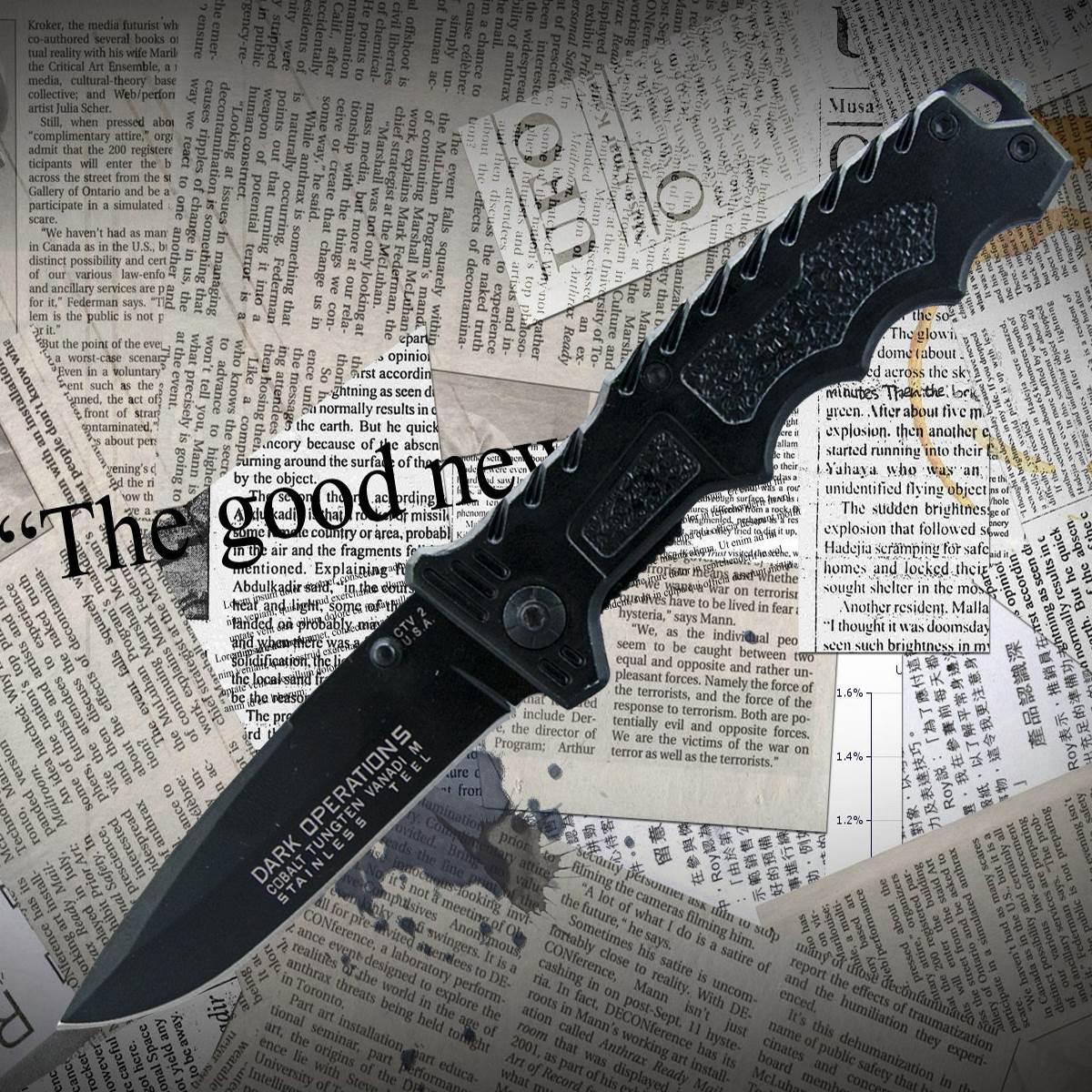 Нож складной №605