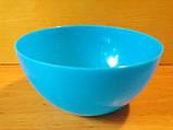 Салатница круглая  0.5 л, пищевой пластик., фото 3
