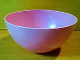 Салатница круглая  0.5 л, пищевой пластик., фото 4