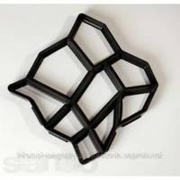 Форма пластиковая для тротуарных дорожек 40х40х4 см