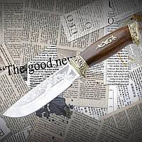 """Нож туристический эксклюзивный Спутник """"Утка"""""""