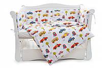 Бампер для детской кроватки Twins Comfort line C-051 Авто