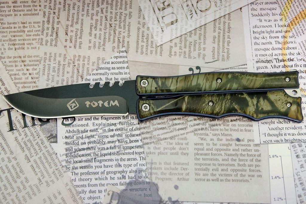 Нож- балисонг Тотем (Totem) 503