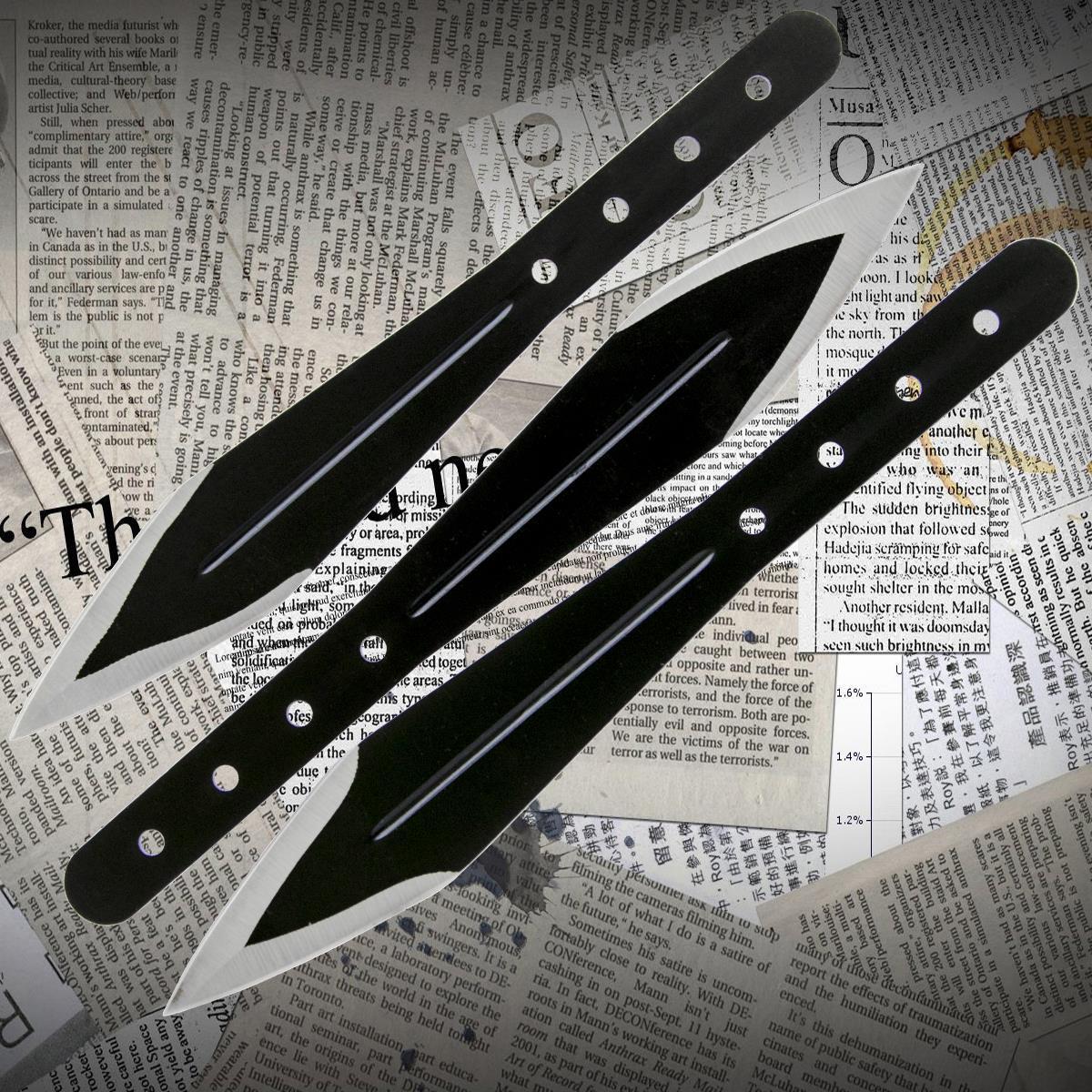 Ножи метательные YF 025 (набор 3 шт)
