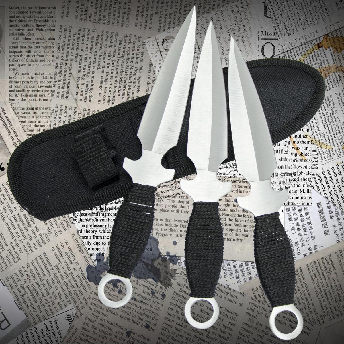 Ножи метательные YF 054 (набор 3 шт)