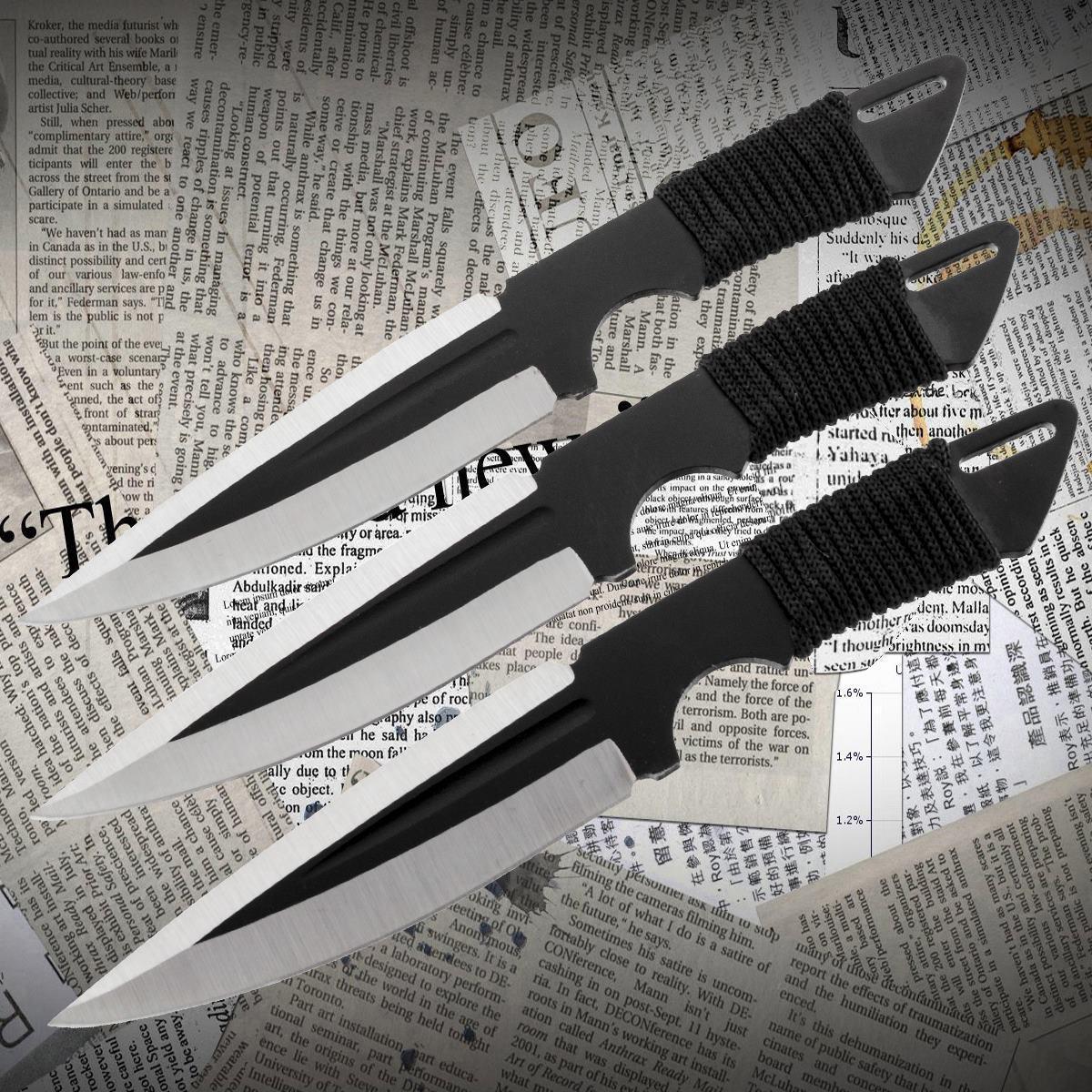 Ножи метательные YF 130 (набор 3 шт)