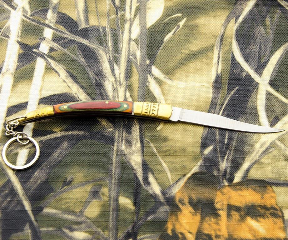 Складной нож-брелок № 516