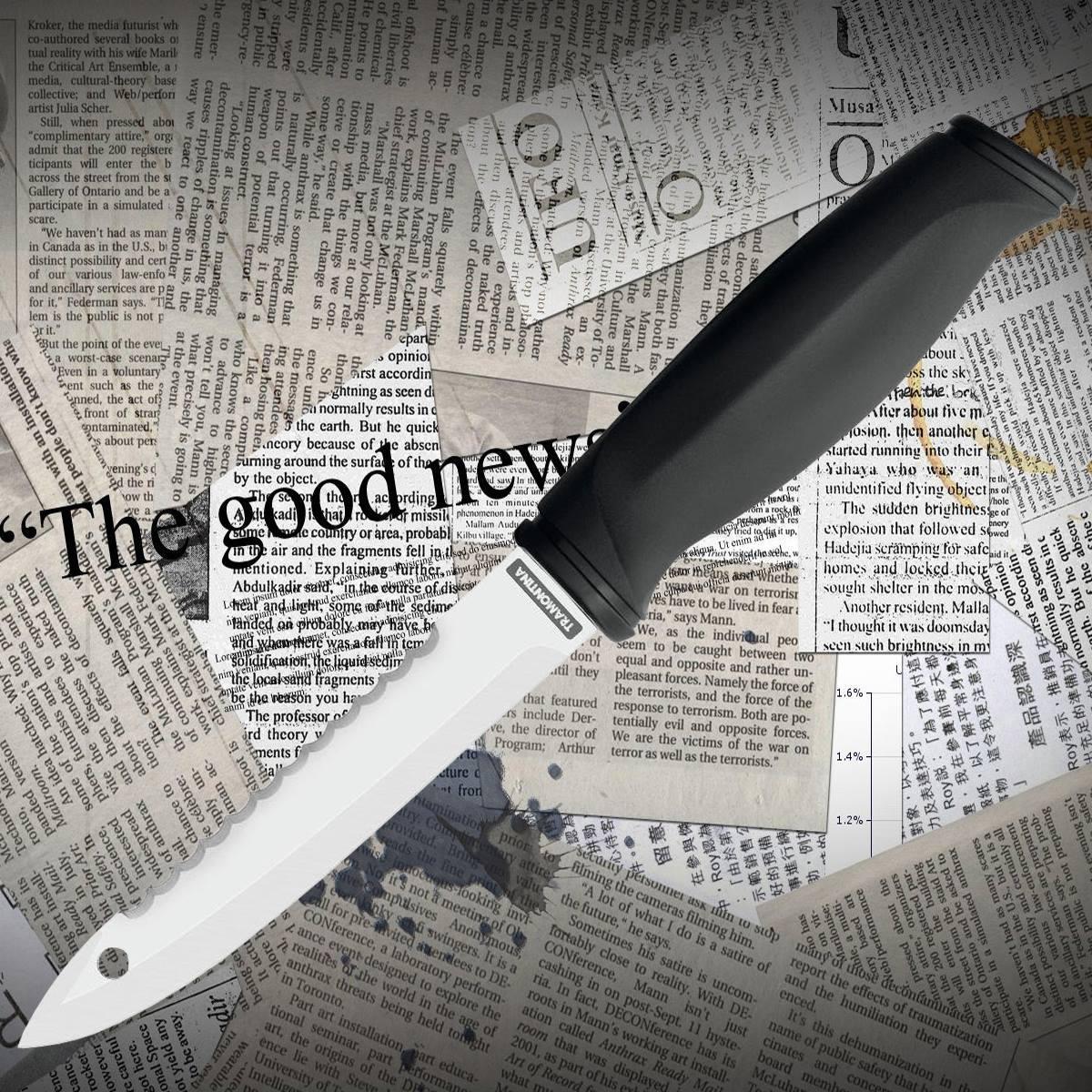 Туристический нож Tramontina 26055/105 FISH