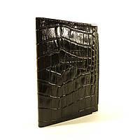 Мужская кожаная обложка для автодокументов Desisan уголок черная, расцветки в наличии