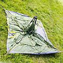 Палатка JY 1513 3- местная двухслойная ПОЛУАВТОМАТ, фото 4