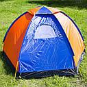 Палатка JY 1516 3- местная однослойная, фото 2