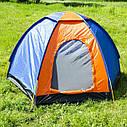 Палатка JY 1516 3- местная однослойная, фото 4