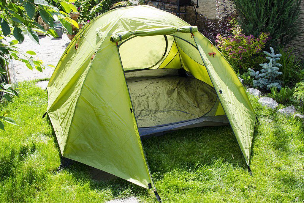 Палатка JY 1537  3- местная двухслойная