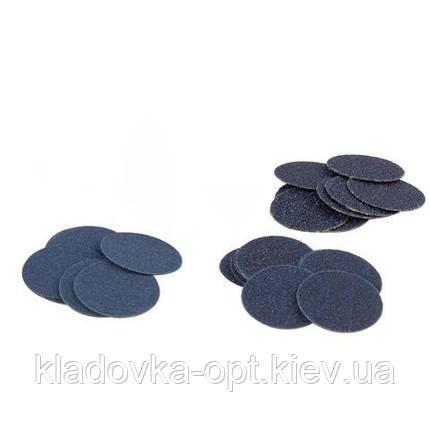 Сменные файлы для педикюрного диска STALEKS PRO M 80 гритт (50 шт), фото 2